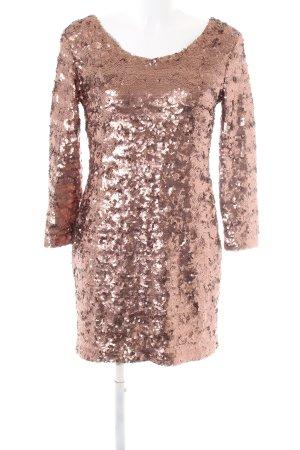 C'est Tout Sequin Dress bronze-colored elegant