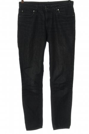 C.I.C Low-Rise Trousers black casual look