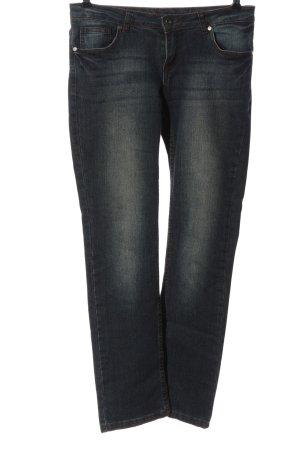 C.I.C Jeans met rechte pijpen blauw casual uitstraling