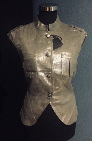 CNC Short Jacket silver-colored