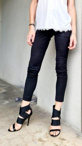 Costume National Pantalone a vita alta nero