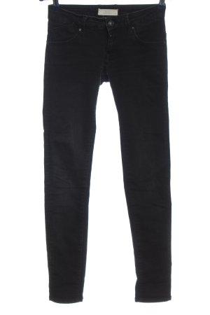 c.o.j Tube jeans zwart casual uitstraling