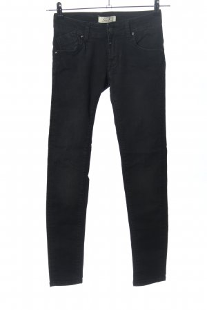 c.o.j Skinny jeans zwart casual uitstraling