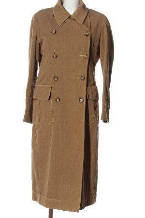 C.P. Company Manteau long brun style décontracté
