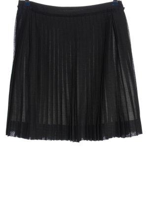 C.P. Company Geplooide rok zwart zakelijke stijl