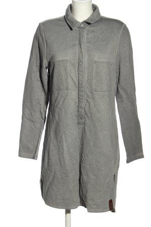 c&s Robe en jersey gris clair style décontracté