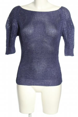 C2C Crochet Sweater lilac casual look