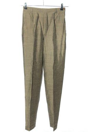C2C Jersey Pants khaki striped pattern casual look