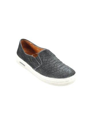 Ca Shott Sneaker slip-on nero-bianco stile atletico