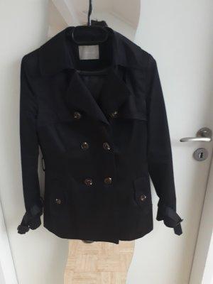 Orsay Heavy Pea Coat black