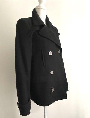 Karl Lagerfeld Pea Jacket black