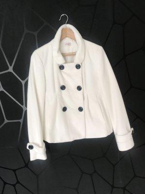 Orsay Marynarska kurtka w kolorze białej wełny