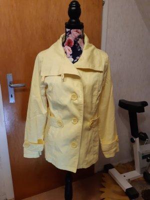 Marynarska kurtka bladożółty