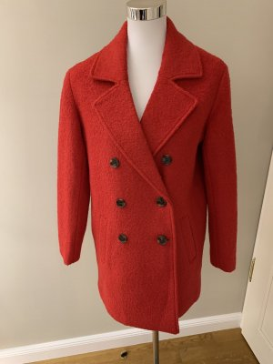 H&M Pea Jacket red