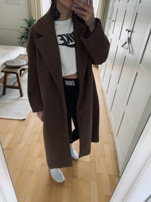 Zara Pea Jacket brown
