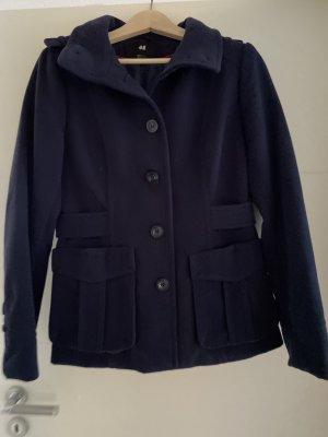 H&M Marynarska kurtka ciemnoniebieski