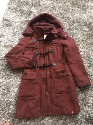 edc by Esprit Hooded Coat multicolored polyester
