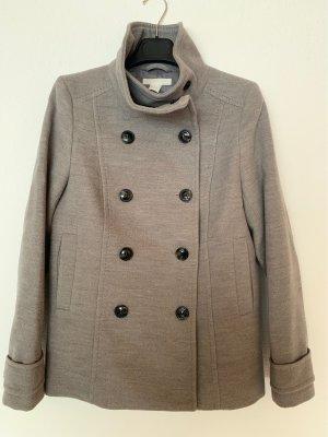 H&M Heavy Pea Coat grey
