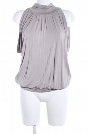 Cable & Gauche Shirt Tunic light grey business style