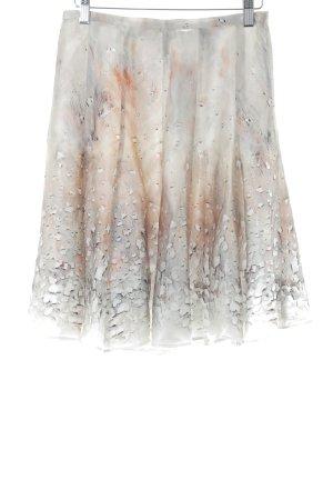 Cacharel Plaid Skirt abstract pattern elegant