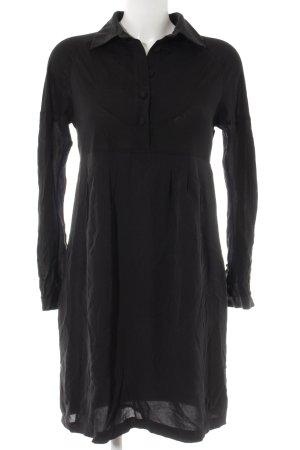 Cacharel Robe chemise noir style décontracté