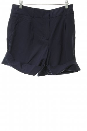 Cacharel Hot Pants dunkelblau Business-Look
