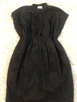 Cacharel Robe chemise noir