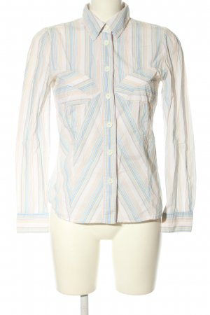 Cacharel Langarm-Bluse Streifenmuster Business-Look