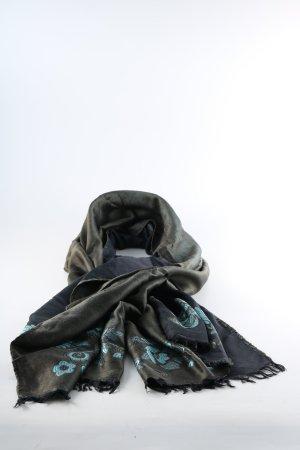 Cacharel Sciarpa di seta motivo floreale stile casual
