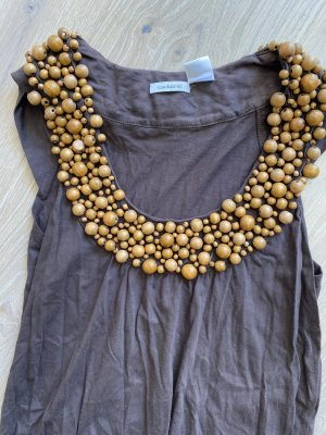 Cacharel Tunika oder kurzes Kleid mit Holzperlen Gr. 34