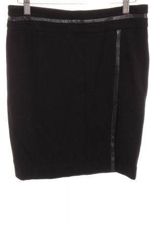 caché Ołówkowa spódnica czarny W stylu biznesowym