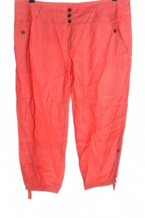 Cache & Cache 3/4 Length Trousers red casual look