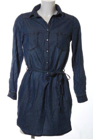 Cache & Cache Jeanskleid blau Casual-Look