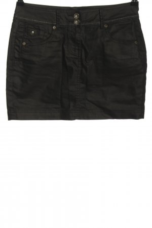 Cache & Cache Denim Skirt black casual look