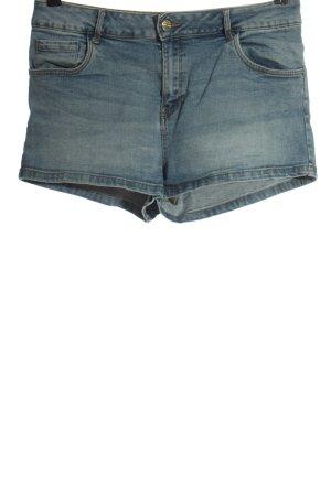 Cache & Cache Short en jean bleu style décontracté