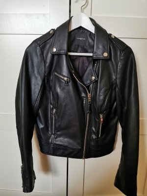 Cache & Cache Faux Leather Jacket black