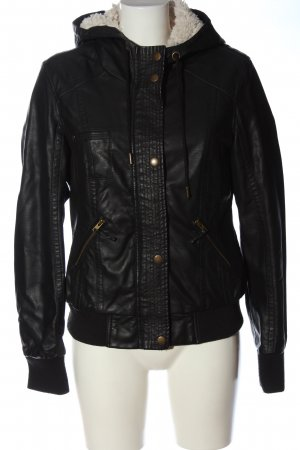 Cache & Cache Krótka kurtka czarny W stylu casual