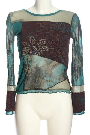 Cache & Cache Bluzka z długim rękawem Na całej powierzchni W stylu casual