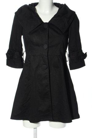 Cache & Cache Long Blazer black casual look