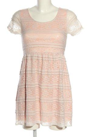 Cache & Cache Sukienka mini nude-w kolorze białej wełny Na całej powierzchni