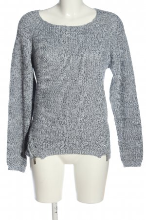Cache & Cache Crewneck Sweater light grey casual look