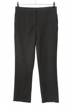 Cache & Cache Jersey Pants light grey check pattern business style