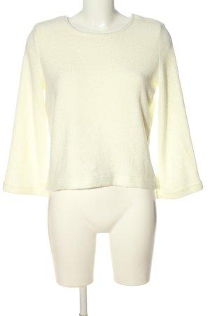 Cache & Cache Pull tricoté blanc cassé style décontracté