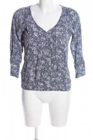 Cache & Cache Tunic Blouse light grey allover print casual look