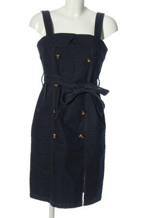 caché Jeansowa sukienka niebieski W stylu casual