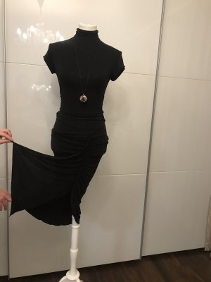 caché Sukienka midi czarny