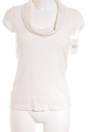 caché T-Shirt wollweiß Elegant