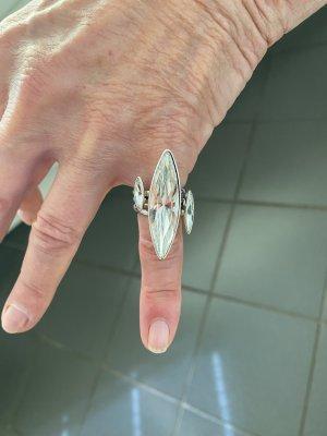 Cadenzza Statement ring zilver