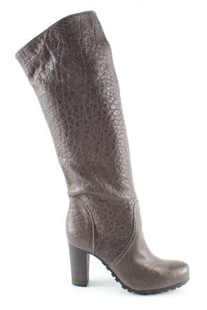 Café Noir Heel Boots brown elegant