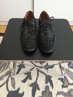 Café Noir Lace Shoes black